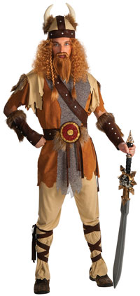 Deluxe Viking Warrior Vuxen dräkt - Viking Costumes