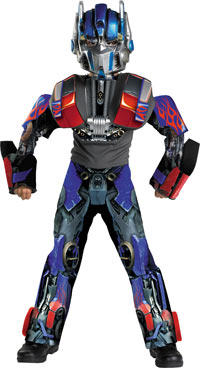 Deluxe Optimus Prime 3-D barn dräkt - transformatorer Costumes
