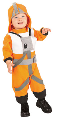 X-Wing Fighter Pilot Baby dräkt - Star Wars Costumes