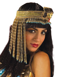 Cleopatra Asp Rullad headsetet - Cleopatra Costumes