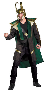 Loki Avengers Deluxe Adult dräkt - The Avengers Costumes