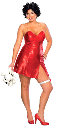 Betty Boop Plus Size dräkten - sexiga Costumes