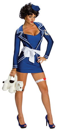 Sexiga Betty Boop Sailor dräkten - sexiga Costumes