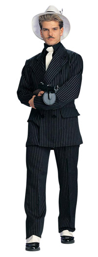 Gangster Deluxe Zoot Suit Costume - gangster Costumes