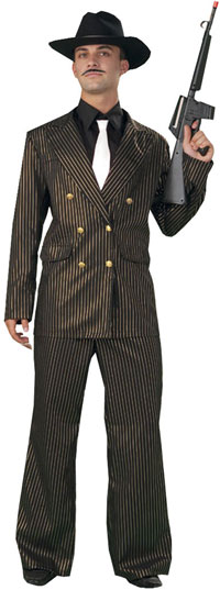 Plus Size gangster kostym - Zoot Suit och gangster Costumes