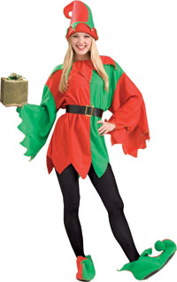 Santas Helper Elf Jul dräkten - Jul Costume