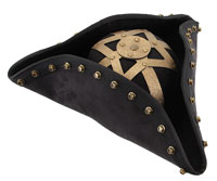 Disney Blackbeard Hat - Pirates of Caribbean Costumes