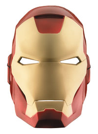 Vacuform Iron Man Mask - The Avengers Costumes