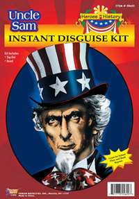 Uncle Sam Costume Kit - Colonial Costumes