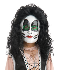 KYSS av Catman 1/2 Mask - KISS Costumes