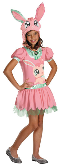 Flickor Littlest Pet Shop kanin dräkten - Littlest Pet Shop Costumes
