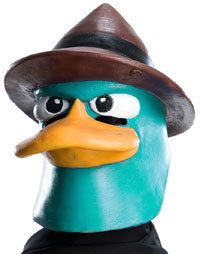 Deluxe Agent Perry Mask - Disney Costumes