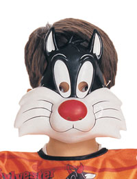 Sylvester Cat Mask - Looney Tunes Costumes