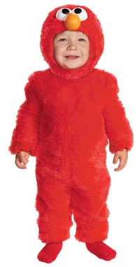 Toddler tänds Elmo ungar dräkten - Halloween Costumes