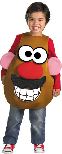 Deluxe Mr. Potato Head ungar dräkten - roliga Costumes
