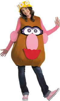 Mr. eller Mrs. Potato Head Deluxe Adult dräkt - roliga Costumes
