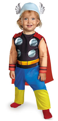 Baby Thor Kids dräkten - The Avengers Costumes