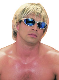 Deluxe Surfer Dude blond peruk - Costume Wigs